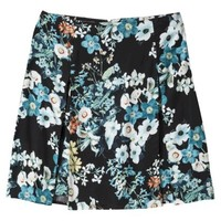 Xhilaration® Junior's A-line Skirt - Floral