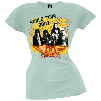 Aerosmith - Fence Juniors T-Shirt