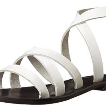 Sol Sana Women's Minx Sandal Imported Leather sole silver-tone hardware