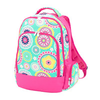 Printed Personalized Monogrammed Backpack