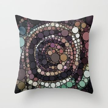 :: Crop Circles :: Throw Pillow by :: GaleStorm Artworks ::