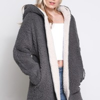 Plush Sherpa Jacket
