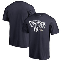 Men's New York Yankees Fanatics Branded Navy 2017 League Championship Series Delayed Steal T-Shirt