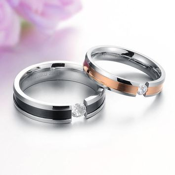 Korean Accessory Fashion Rhinestone Stylish Titanium Jewelry [11676775631]