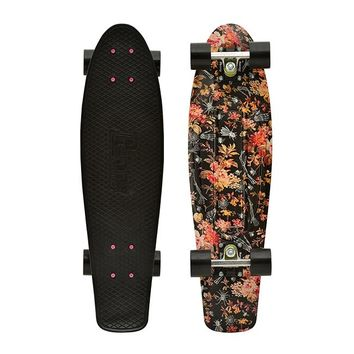 "Penny Skateboards USA Penny Nickel Floral 27"" Original Plastic Skateboard"