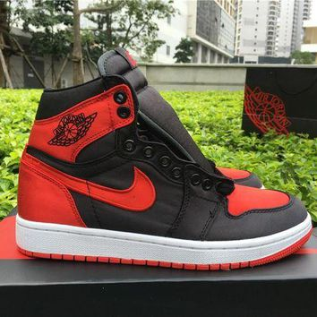 UCANUJ3V Air Jordan 1 OG High SE ¡°Satin¡± Material Men Sneaker