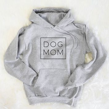 Dog Mom - Boxed Collection - Mens Hooded Sweatshirt