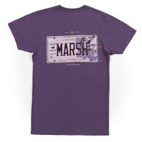 Backroads Collection - Louisiana Tee in Iris by Southern Marsh