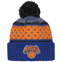 Mitchell & Ness New York Knicks The Highlands Cuffed Knit In Multicolor
