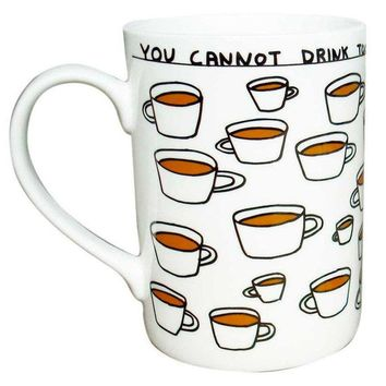 David Shrigley Tea Mug