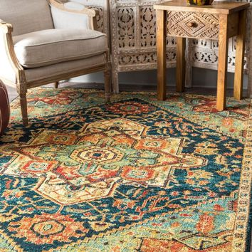nuLOOM Tribal Medallion Tabetha Area Rug