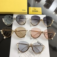 FENDI Womens Fashion Sunglasses