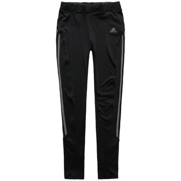 Trendsetter Adidas Woman Casual Gym Sport Yoga Embroidery Print Pants Trousers Sweatpa