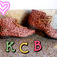 NEW Forever 21 Leopard/Cheetah Booties by KawaiiCharmBakery