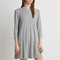 Marled Trapeze Dress