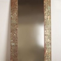 Vintage Large Tin Mirror at Free People Clothing Boutique