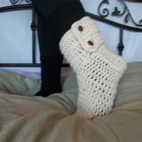 Crochet Slipper boots women, boots, footwear, socks, slippers non slip