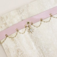 Sleeping Beauty Choker in Pink and Gold