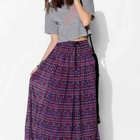 Band of Gypsies Gauzy Fractal Maxi Skirt-