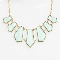 Stephan & Co. Geometric Bib Necklace (Juniors) | Nordstrom