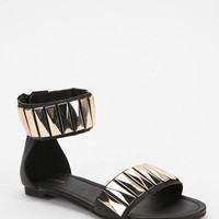 Deena & Ozzy Beverly Metal Jewel Sandal