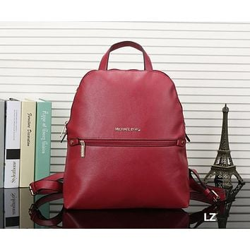 Michael Kors MK Women Leather Bookbag Shoulder Bag Handbag Backpack
