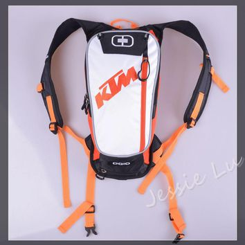 Backpack: Ktm Style - Motorcycle - Motocross Hydration Pack - Beauty Ticks