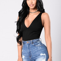 Lovers In Paradise Top - Black
