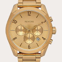 Nixon Bullet Chrono Watch Gold One Size For Men 26471462101