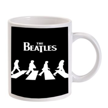 Gift Mugs | The Beatles Ceramic Coffee Mugs
