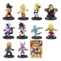 Bandai Dragon Ball Z Deformation The Chapter of Movie 10 Mini Trading Figure Set