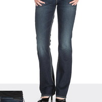 Silver Jeans ® Suki Faux Flap Pocket Slim Boot Jeans - Dark Sandblast