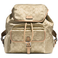 COACH BACKPACK IN SIGNATURE NYLON
