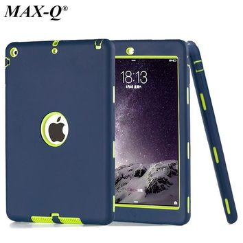 For Apple ipad 5/ipad air 1 case MAX-Q Amor Heavy Shockproof cover Drop resistance tab
