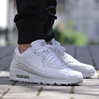 """Air Max 90 Leather """"All White"""""""