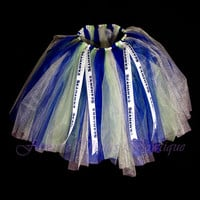 Seattle Seahawks Tutu with Team Ribbon