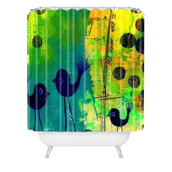 Sophia Buddenhagen I Can Hear You Shower Curtain