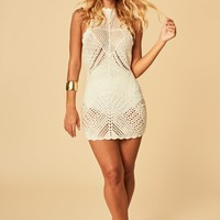 Risk It All Crochet Dress