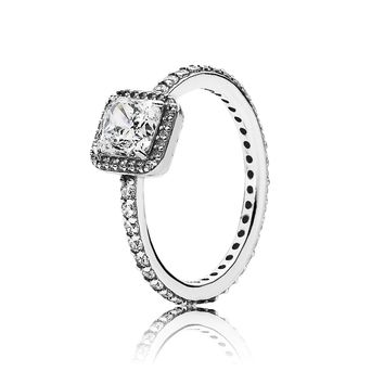 PANDORA Timeless Elegance Ring, Clear CZ