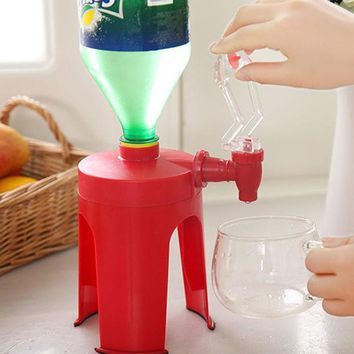 ICIK272 New Upside Down Drinking Fountains Cola Beverage Switch Drinkers Hand Pressure Water Dispenser Automatic ZQ21