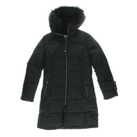 Calvin Klein Womens Down Hooded Parka
