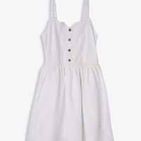 Scalloped Eyelet Dress (Kids)