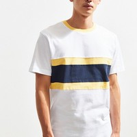 UO Chest Blocked Tee | Urban Outfitters