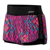 ASICS Illusion Printed Double-Layer Running Shorts