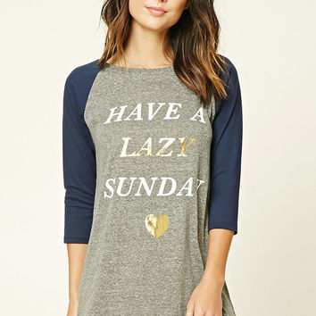 Have A Lazy Sunday Nightdress