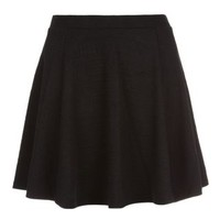 New Look Mobile | Teens Black Textured Skater Skirt