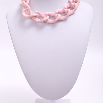 Acrylic Link Necklace