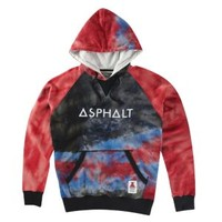 Asphalt Yacht Club Tie Dye Pullover Sweatshirt - Men's at CCS