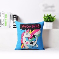 Pop Unicorn Pillow Case