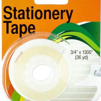 Clear Stationery Tape in Dispenser ( Case of 12 )